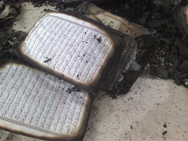 انتهاك ضد المساجد و املاك المواطنين